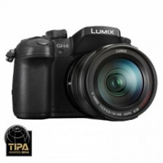 Panasonic Lumix DMC-GH4 kit G Vario 14-140mm ASPH Power O.I.S - Aparat Foto Mirrorless Panasonic, Kit (cu obiectiv)