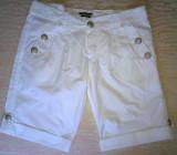 Pantaloni scurti dama,EXTYN,originali,Italia, Alb
