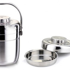 Vas transport alimente capacitate 1.4 l Hand Pan