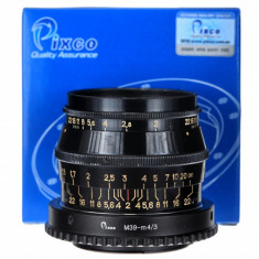 Adaptor m4/3 mft - Leica m39 (Pixco) pentru Olympus Panasonic - Inel adaptor obiectiv foto