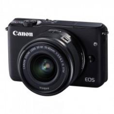 Canon EOS M10 negru kit EF-M 15-45mm f/3.5-6.3 IS STM negru - Aparat Foto Mirrorless Canon, Kit (cu obiectiv)