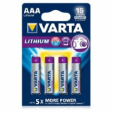 Varta baterie Lithium Profesionala R3 AAA, 4 bucati / blister