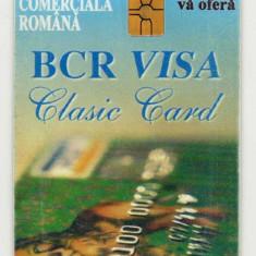 ROM 039B  CARTELA ROMTELECOM  BCR VISA