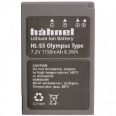 Hahnel HLS5 - acumulator replace tip Olympus BLS5, 1150mAh - Baterie Aparat foto
