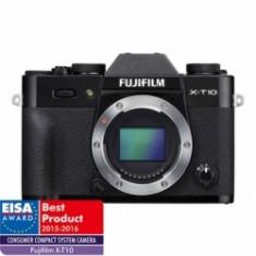 Fujifilm X-T10 body - negru - Aparat Foto Mirrorless Fujifilm, Body (doar corp), 16 Mpx
