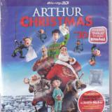 Film Blu Ray 3D: Arthur Christmas ( sigilat - dublaj si subtitrare in lb.romana) - Film animatie