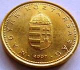 Moneda 1 Forint - UNGARIA, anul 2007 *cod 4120 UNC, Europa