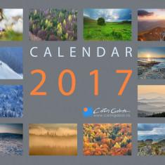 Calendar 2017 de perete Natura si Peisaje din Romania format A3 carton 300g/mp