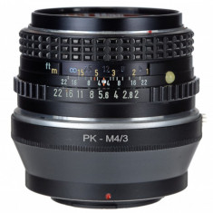 Adaptor m4/3 mft - Pentax PK pentru Olympus Panasonic - Inel adaptor obiectiv foto