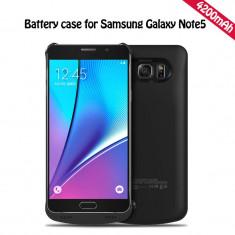 Baterie extinsa 4200 mah backup Samsung Galaxy Note 5