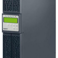 UPS Legrand Daker Tower/ Rack 3000VA/2400W On-Line double conversion single phase I/O sinusoidal, management RS232 & USB LN310052