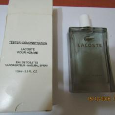PARFUM TESTER LACOSTE POUR HOMME -- `100 ML ---SUPER PRET, SUPER CAL! - Parfum barbati Lacoste, Apa de toaleta