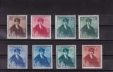 ROMANIA 1940  LP 138  CAROL II CU PELERINA  SERIE  MNH, Nestampilat