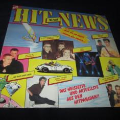 Various - hit news(1984) _ vinyl, LP, elvetia _ anii'80 - Muzica Pop Altele, VINIL