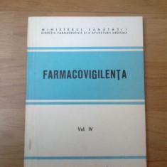 W3 Farmacovigilenta volumul IV - Carte Farmacologie