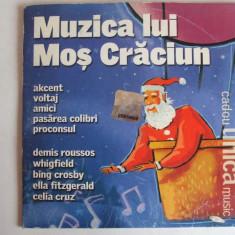 CD  COLINDE DE CRACIUN ,  MUZICA LUI MOS CRACIUN