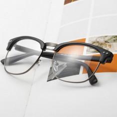 Rame Vintage Retro - ochelari cu lentile transparente Stil Ray Ban