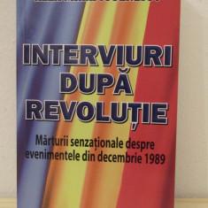 INTERVIURI DUPA REVOLUTIE, MARTURII SENZATIONALE-ALEX MIHAI STOENESCU - Istorie