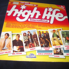Various - high life international(1982)_vinyl, LP, germania, anii'80 - Muzica Dance Altele, VINIL