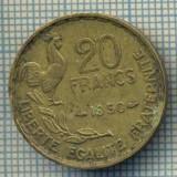 7563 MONEDA- FRANTA - 20 FRANCS - anul 1950 -starea ce se vede, Europa