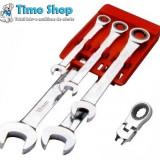 Set chei combinate cu clichet B06-P05 - Cheie mecanica