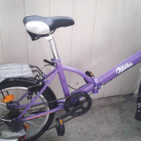 Bicicleta Scirocco - Bicicleta pliabila, 22 inch, 20 inch, Numar viteze: 6