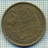 7565 MONEDA- FRANTA - 20 FRANCS - anul 1952 -starea ce se vede, Europa