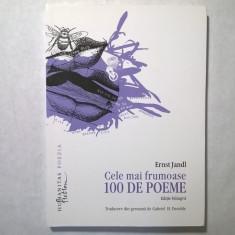Ernst Jandl - Cele mai frumoase 100 de poeme - Carte poezie