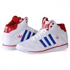 Ghete Adidas SL - Ghete barbati Adidas, Marime: 40, 43, Culoare: Alb, Piele sintetica