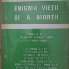 Enigma Vietii Si A Mortii - Aurel Popescu-balcesti, 387863 - Carti Budism