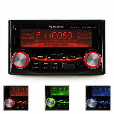 Auna MD-830 USB SD radio auto MP3 Bluetooth 3 culori - CD Player MP3 auto
