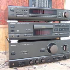 Linie Audio Technics [SU-V670][SL-PS620A][ST-GT550 rds] - Combina audio Technics, Separate, 81-120 W