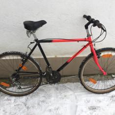 7 bicicleta second-hand, germania r26 - Mountain Bike, 19 inch, Numar viteze: 18