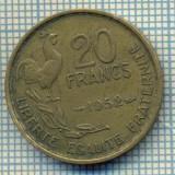 7564 MONEDA- FRANTA - 20 FRANCS - anul 1952 -starea ce se vede, Europa