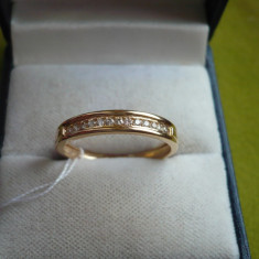 LICHIDEZ COLECTIE- INEL MEMORY CU BRILIANTE - Inel diamant, Carataj aur: 18k, Culoare: Galben