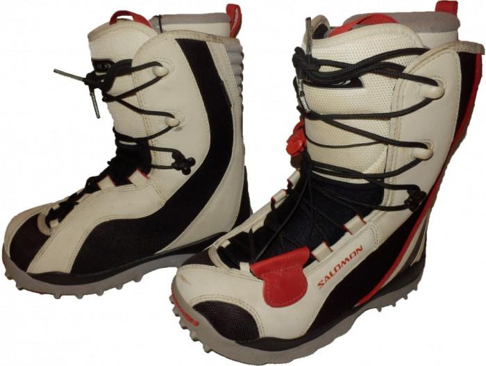 Boots snowboard SALOMON stare perfecta, calitativi (dama 38) cod-174037 foto mare