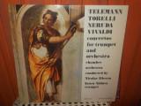 -Y- TELEMANN TORELLI NERUDA VIVALDI - IANCU VADUVA TROMPETA ( CA NOU ), VINIL