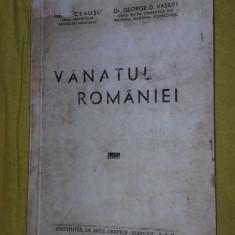 VANATUL ROMANIEI - CEAUSU, VASILIU - Carte Biologie