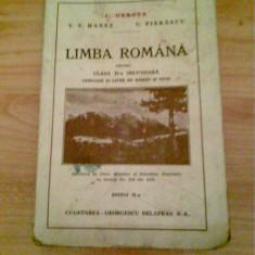 LIMBA ROMANA - C GEROTA - Manual scolar, Clasa 2