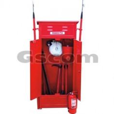 Pichet PSI (panou PSI) cu suporti cange. Echipare fara hidrant