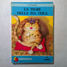 Jo Pestum - La tigre della zia thea - Carte in italiana