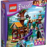 LEGO® Friends Tabara de aventuri: Casuta din copac 41122