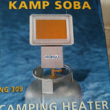 Arzator butelie gaz incalzire  camping infrarosu NOU pt foisor cort