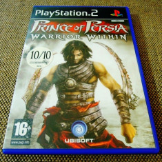 Joc Prince of Persia warrior Within, PS2, original, alte sute de jocuri! - Jocuri PS2 Ubisoft, Actiune, 12+, Single player