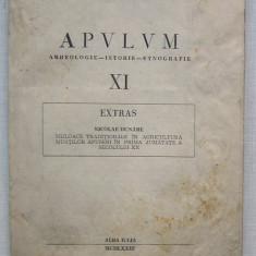 Nicolae Dunare - Mijloace Traditionale In Agricultura Muntilor Apuseni - Carte Arta populara