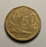 50 cents 1991 Africa de Sud, America Centrala si de Sud