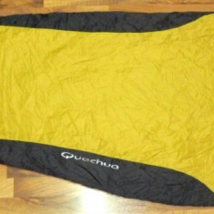 Sac de dormit QUECHUA S15 -1 grade ULTRALIGHT 730g 222 cm transport inclus