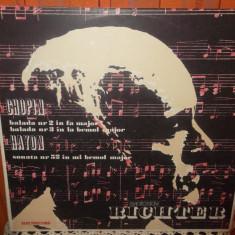 -Y- CHOPIN / HAYDN - SVIATOSLAV RICHTER DISC VINIL LP - Muzica Clasica electrecord