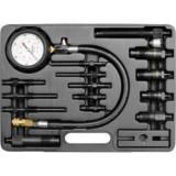 Tester de compresie pentru motoarele diesel Yato YT-7307, 16 piese, 70 bar - Tester diagnoza auto