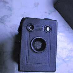 Aparat camera foto rar si vechi anii 20 de colectie husa gen Brownie, Kodak etc - Aparat de Colectie